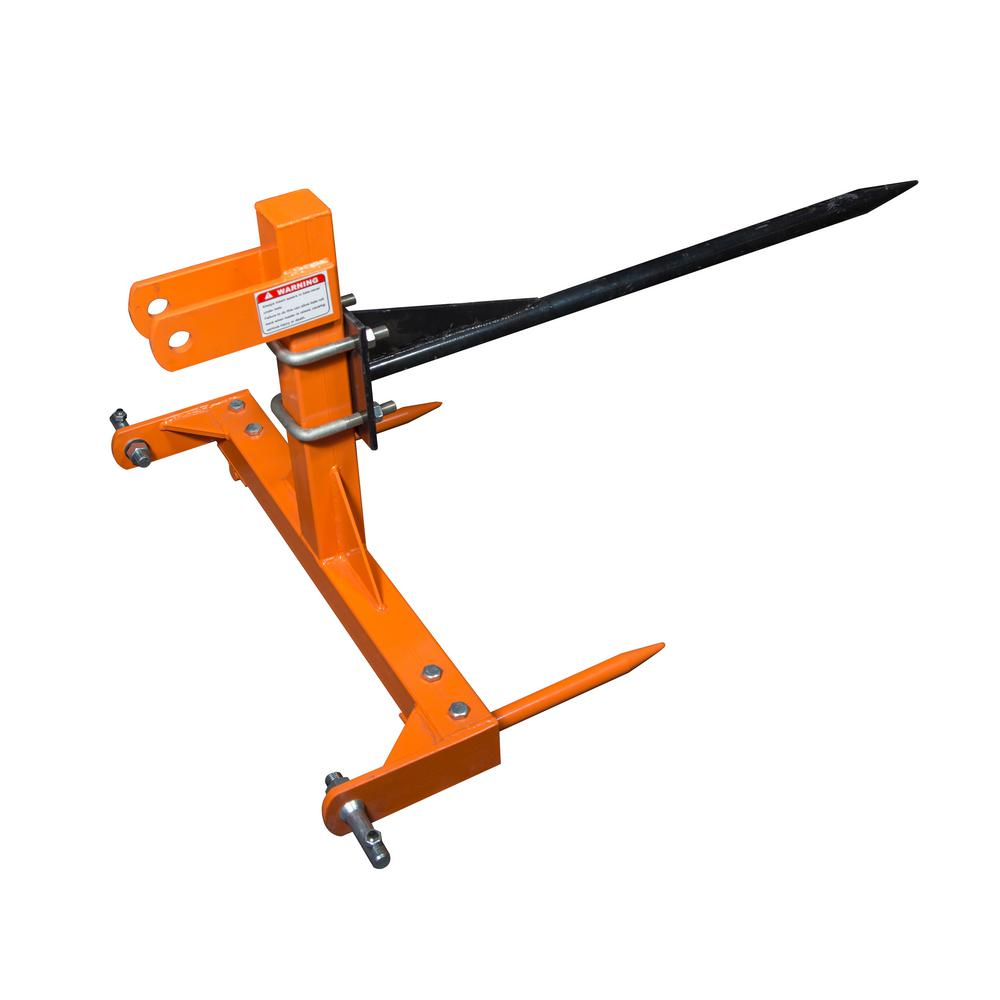 Power King 3-Point 1000 lb. Capacity Bale Spear