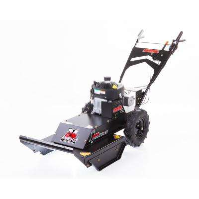 Predator 24 in  11 5 HP 4-Speed Briggs & Stratton Gas Recoil Start  Self-Propelled Walk Behind Brush Cutter Mower