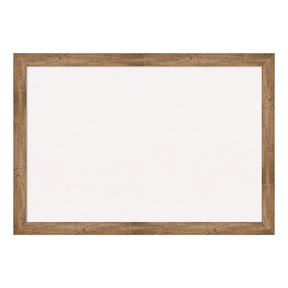 Owl Brown Narrow Framed White Cork Memo Board