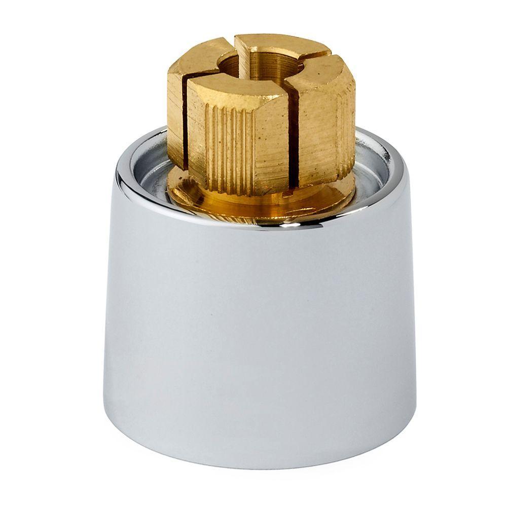 American Standard Short Metal Faucet Handle Skirt Adapter, Polished Chrome