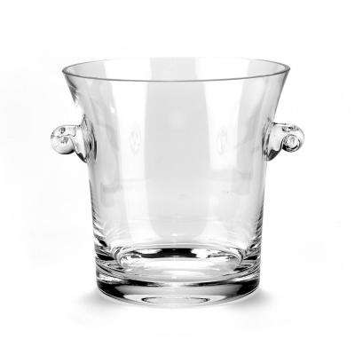 6 in. H Chelsea Mouth Blown European Wine or Champagne Cooler