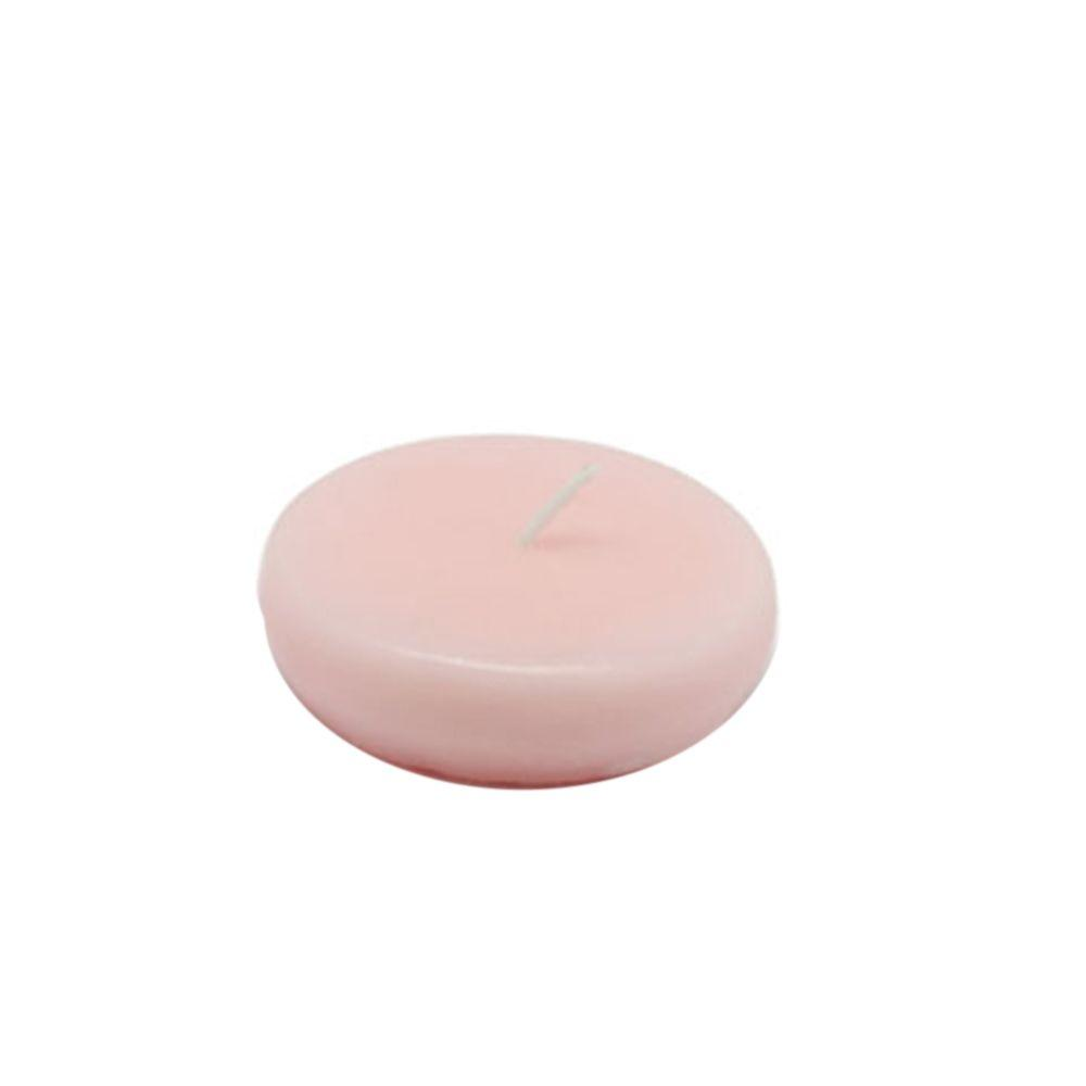 2.25 in. Light Rose Floating Candles (Box of 24)