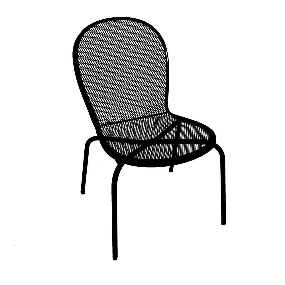 Arlington House Acworth Commercial Grade Patio Side Chair (4-Pack)
