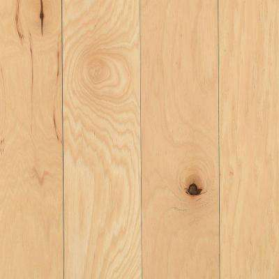 Take Home Sample - Portland Hickory Natural Solid Hardwood Flooring - 5 in. x 7 in.