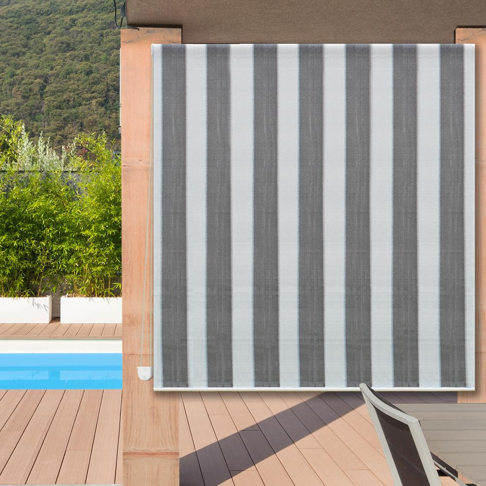 Radiance 60 in x 72 in l sunset bohemian breeze - Exterior solar screens home depot ...