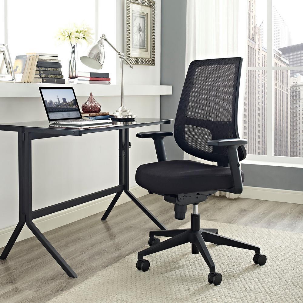 Pump Office Chair in Black
