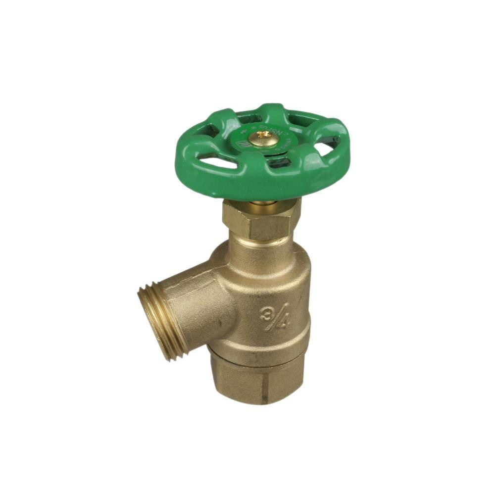 3/4 in. Garden Female Thread to Pipe Bent Nose Valve