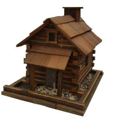 Valley Forge Natural Cedar Feeder (Large)