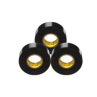 Scotch Super 33+ 3/4 in. x 66 ft. Vinyl Electrical Tape, Black (3-Pack)