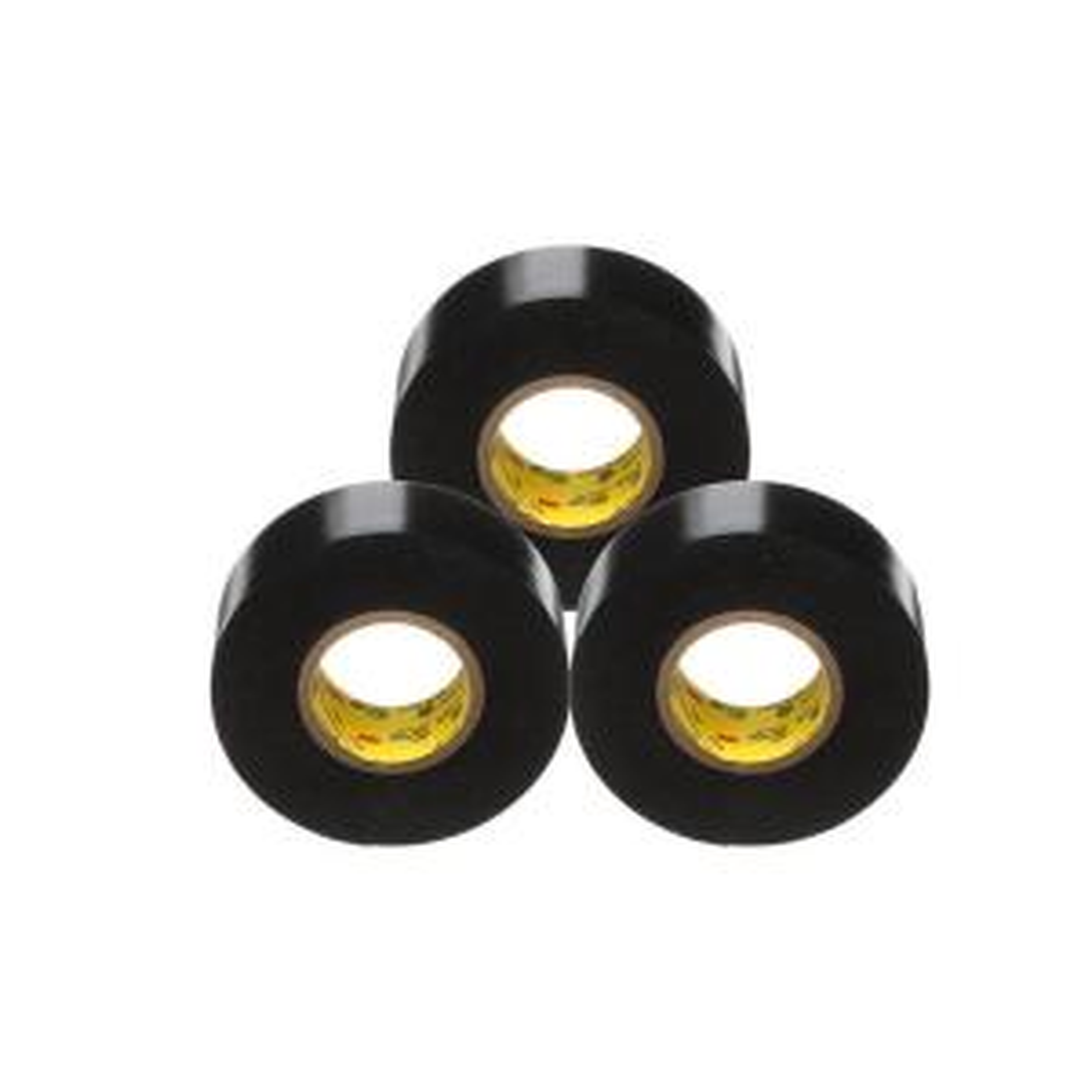 Scotch Super 33+ 3/4 in. x 66 ft. Vinyl Electrical Tape, Black (3-Pack)