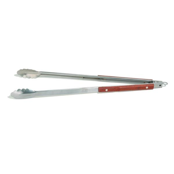 22 in. Rosewood Tongs Extra Long