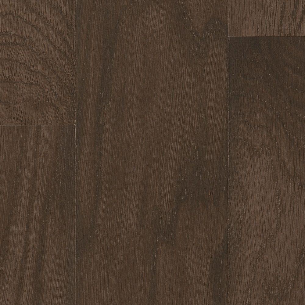 Bruce Oak Gray Twilight Performance Hardwood Flooring - 5 in. x 7 in. Take Home Sample