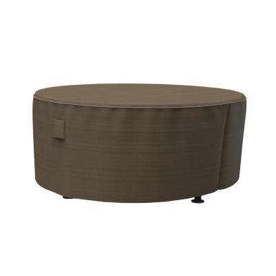 Rust-Oleum NeverWet Hillside Large Black and Tan Round Patio Table Cover
