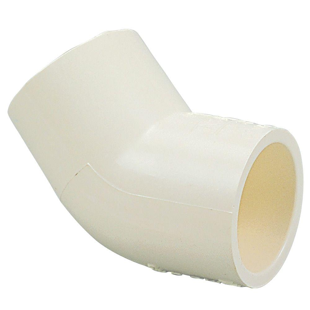 1/2 in. CPVC CTS 45-Degree Slip x Slip Elbow