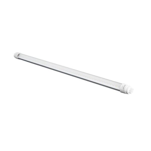 4 ft. T8 18-Watt Bright White Frosted Lens Linear LED Tube Light Bulb
