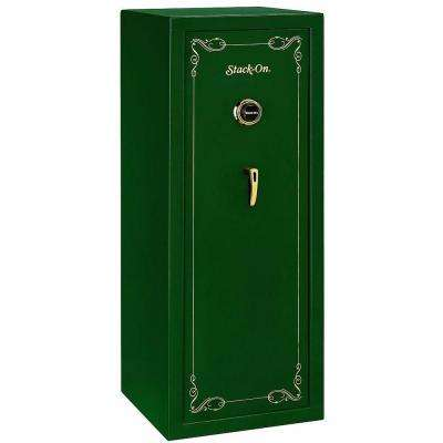 16-Gun Matte Hunter Green Combination Lock Safe
