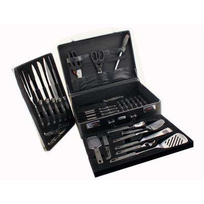 Geminis 32-Piece Knife Set with Case