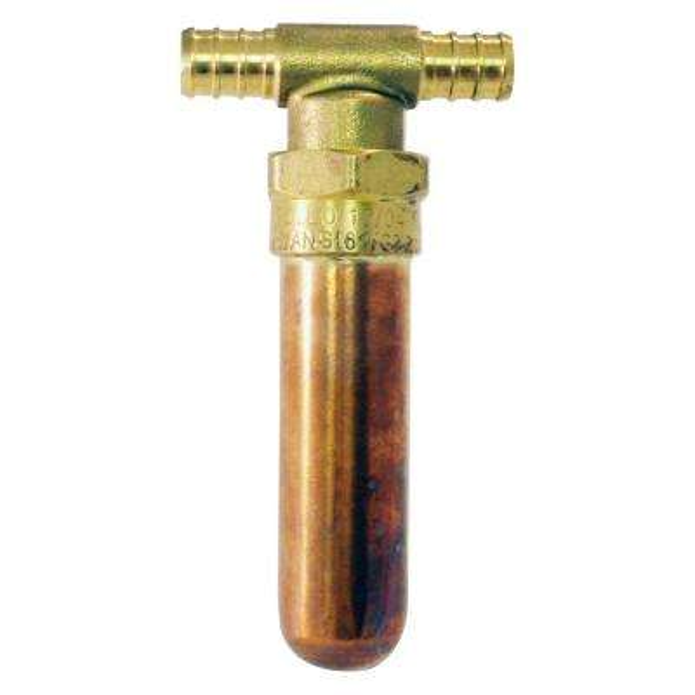 1/2 in. PEX Barb Water Hammer Arrestor Tee