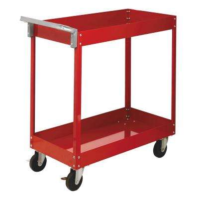 18 in. Economy Utility Cart in Red