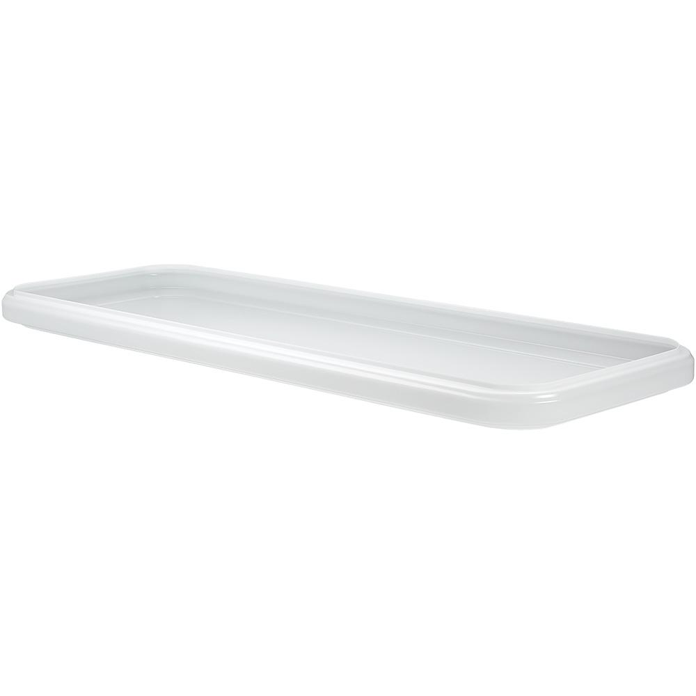ETi 4 ft. x 1.5 ft. Replacement Lens for LED Stepped Rectangular Ceiling Puff Light sku 1000532323 ETi's 4 ft. Replacement Cover Lens for LED Flush Mount Ceiling Light is made of a durable, acrylic material. It is lightweight and easy to install. This is to replace the lens for Store SKU# 1000532323 Hampton Bay's 4 ft. x 1.5 ft. Rectangle LED Flush Mount Ceiling Light 5500 Lumens ONLY.