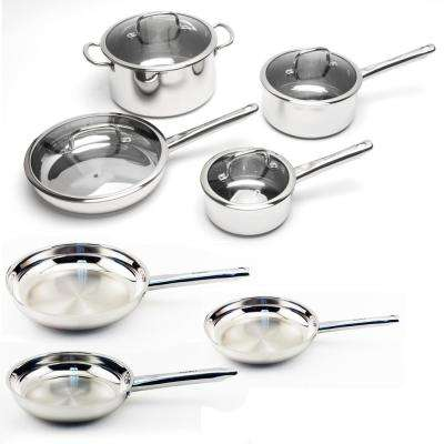 EarthChef Boreal 11-Piece Cookware Set