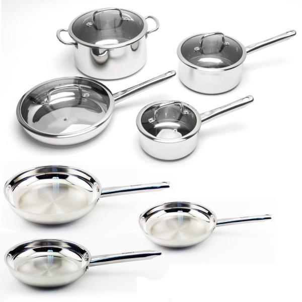 BergHOFF EarthChef Boreal 11-Piece Cookware Set 2211954