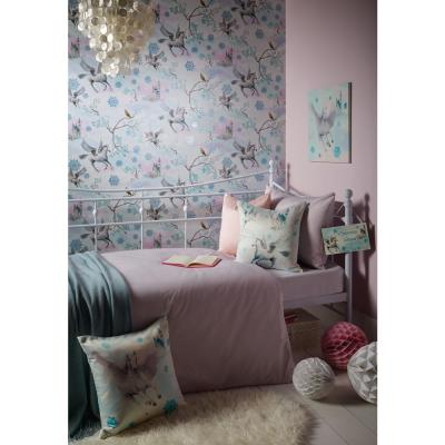 Fairytale Ice Blue Wallcovering