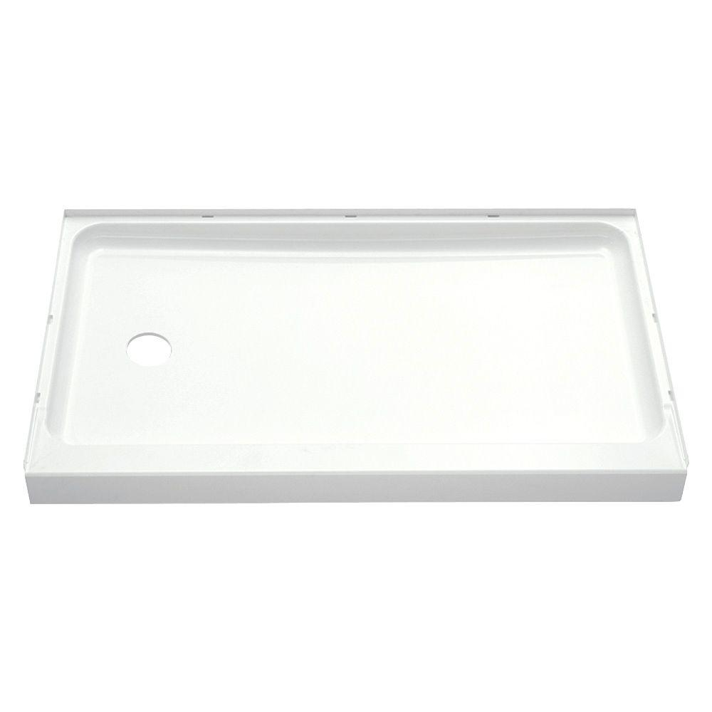 Single Threshold Shower Base With Left Hand