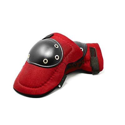 Knee Pads hard Cap Construction Protect Work Gardening Landscaping New Pair Red