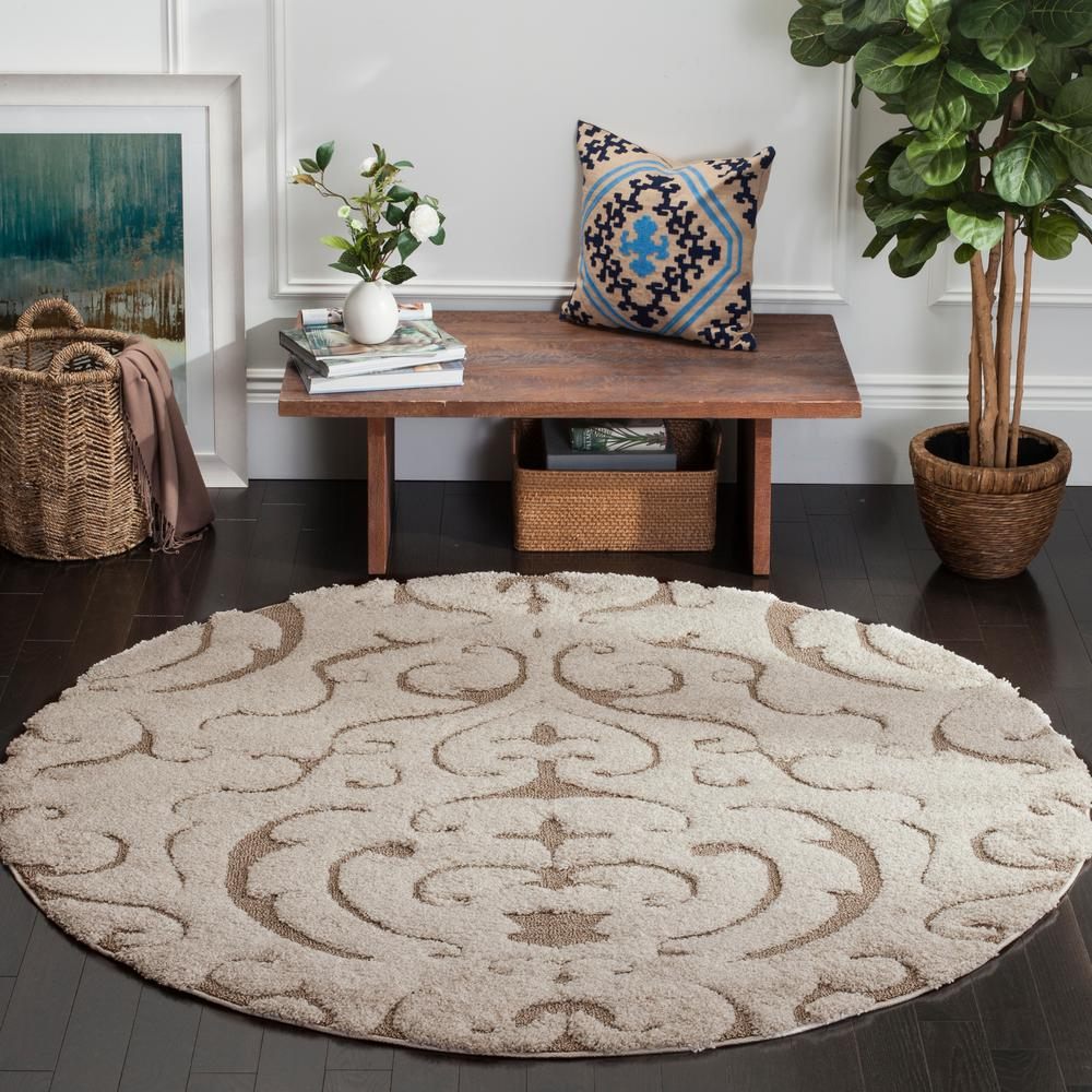 This Review Is From Florida Cream Beige 7 Ft X Round Area Rug
