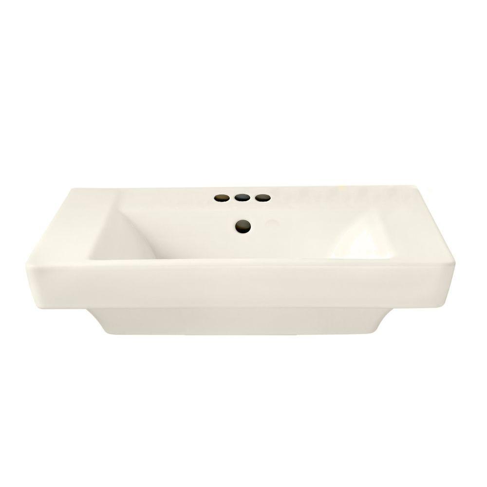 American Standard Boulevard 7 In Pedestal Sink Basin With