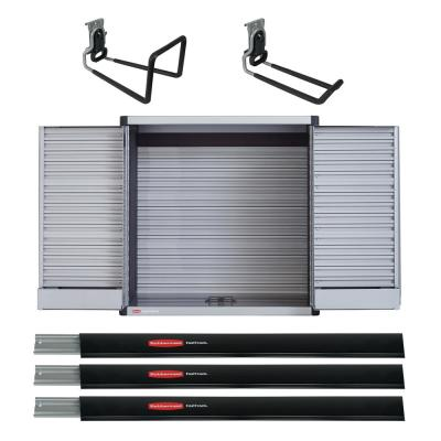Fast Track 48 in. Rail/Tool Cabinet Bundle (6-Piece)
