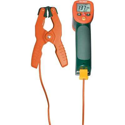 IR Thermometer + K Thermometer with Free TP200