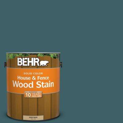 1 gal. #T17-12 Wanderlust Solid Color House and Fence Exterior Wood Stain