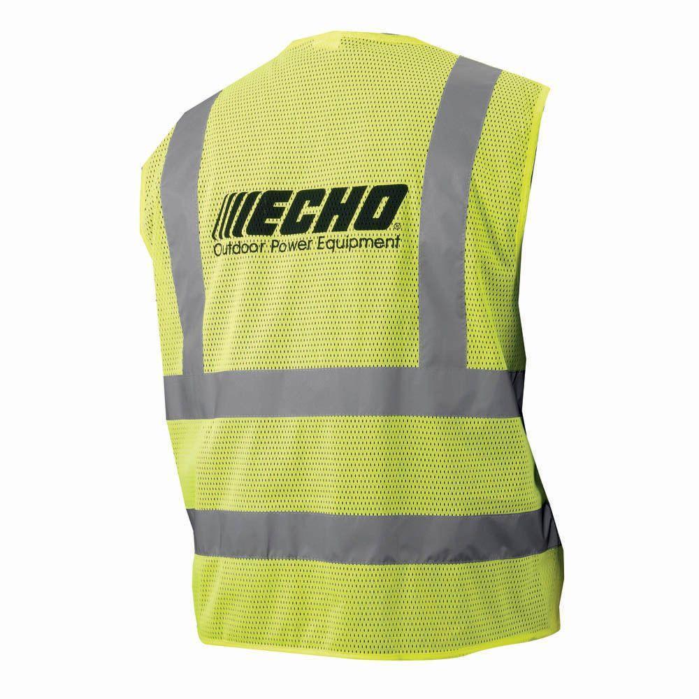 Hi-Visibility Neon Yellow Safety Vest XXL
