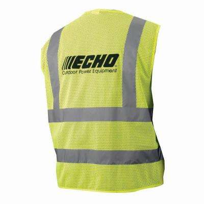 Polyester Yellow Extra Extra Large Safety Vest