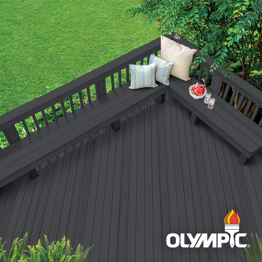 Olympic Rescue It 3 gal. Mystic Black Resurfacer, Primer with Sealant