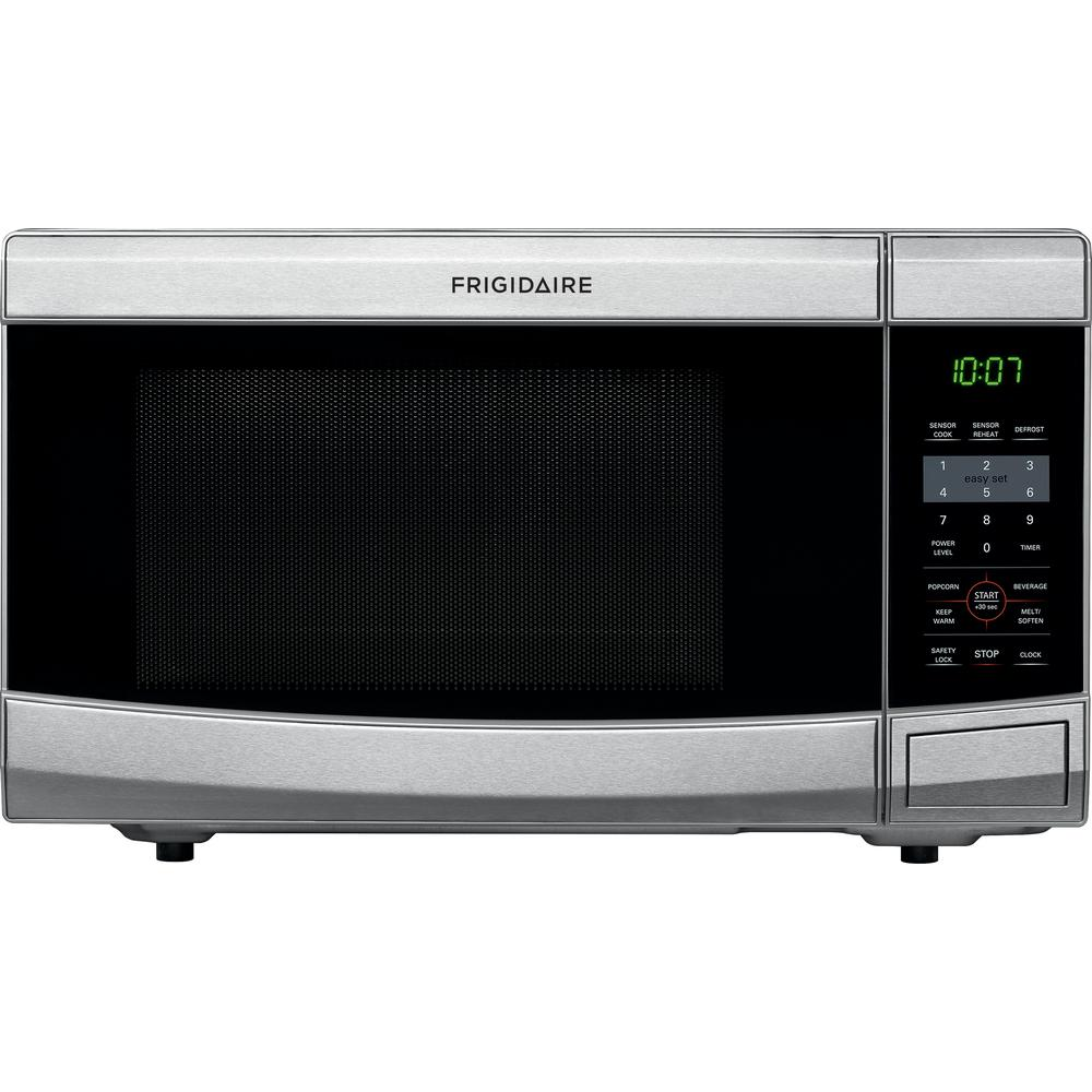 Frigidaire 1 1 Cu Ft Countertop Microwave In Stainless Steel