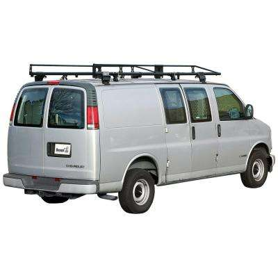 Black Steel Van Ladder Rack