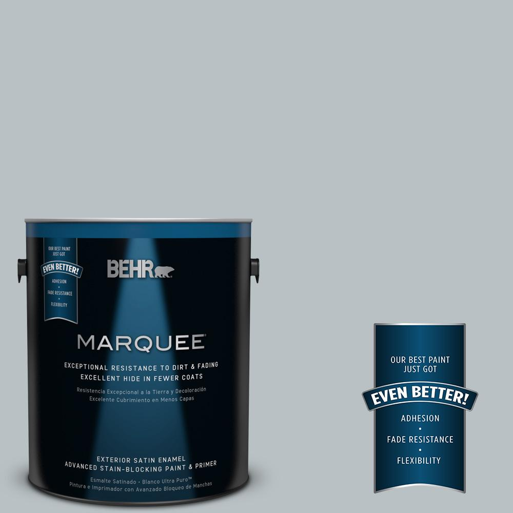 1 gal. #MQ5-31 Distant Star Satin Enamel Exterior Paint