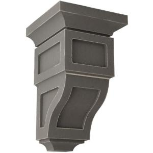 Ekena Millwork COR04X05X03LE-CASE-4 Corbel Factory Primed and Ready for Paint