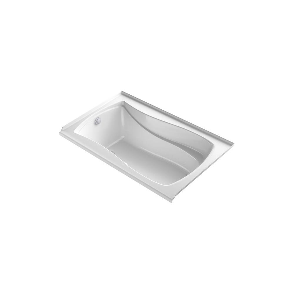 KOHLER Mariposa 5 ft. Air Bath Tub in White
