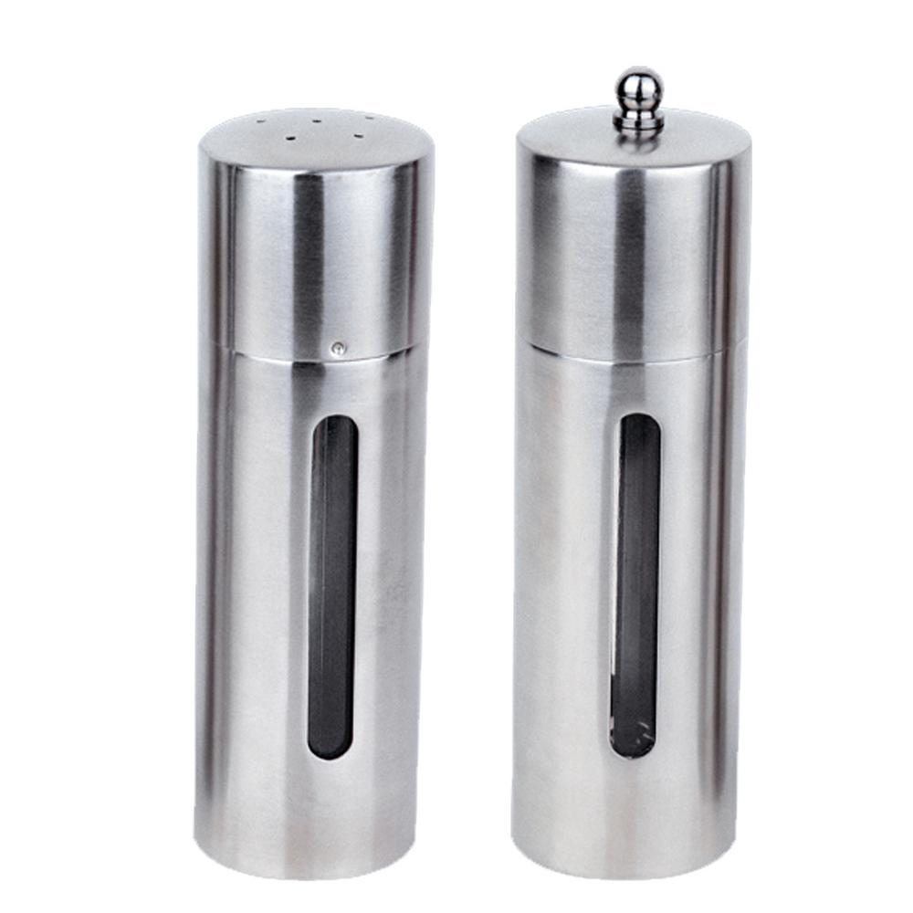 Berghoff Straight Line 1810 Stainless Steel Salt And Pepper Mill