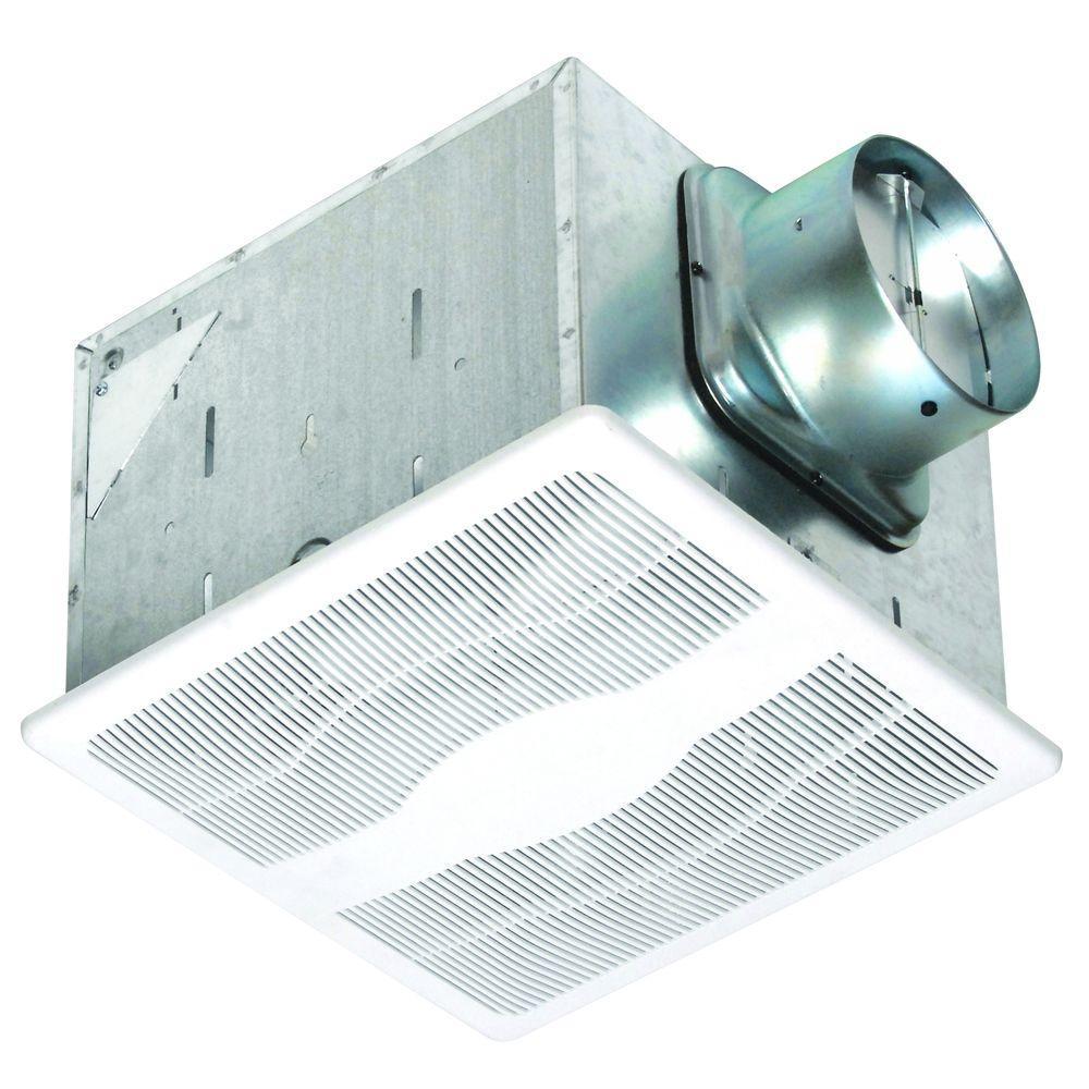 80 CFM Dual Speed Humidity Sensing Bathroom Ceiling Exhaust Fan