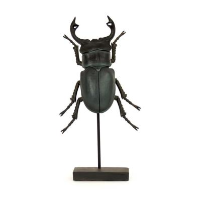 Large Decorative Stag Beetle on Stand
