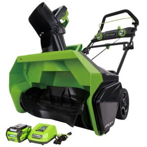 Greenworks Digi-Pro GMAX 20 inch 40-Volt Cordless Electric Snow Blower - Battery and Charger Included by Greenworks