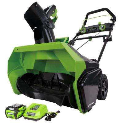 Digi-Pro GMAX 20 in. 40-Volt Cordless Electric Snow Blower - Battery and Charger Included