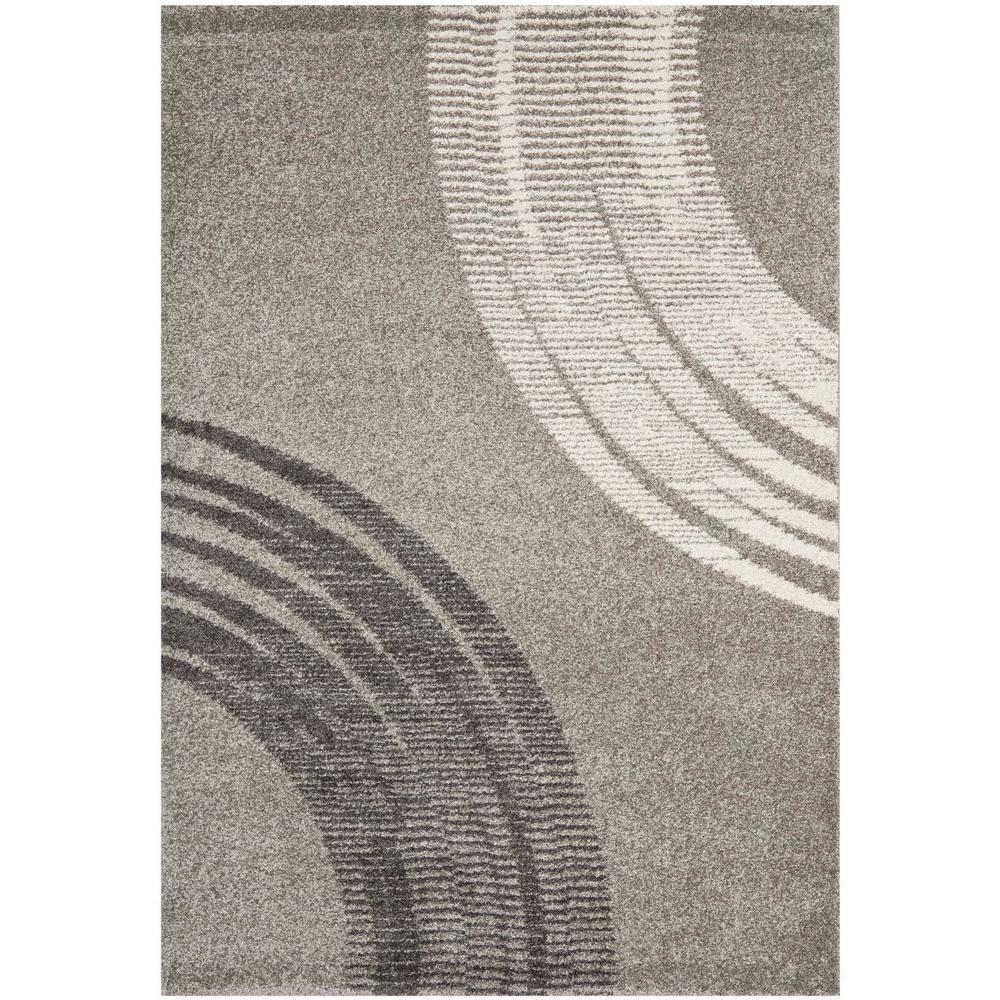 Safavieh Porcello Light Grey 4 Ft X 6 Ft Area Rug