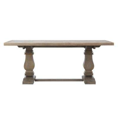 Aldridge Antique Grey Rectangular Dining Table
