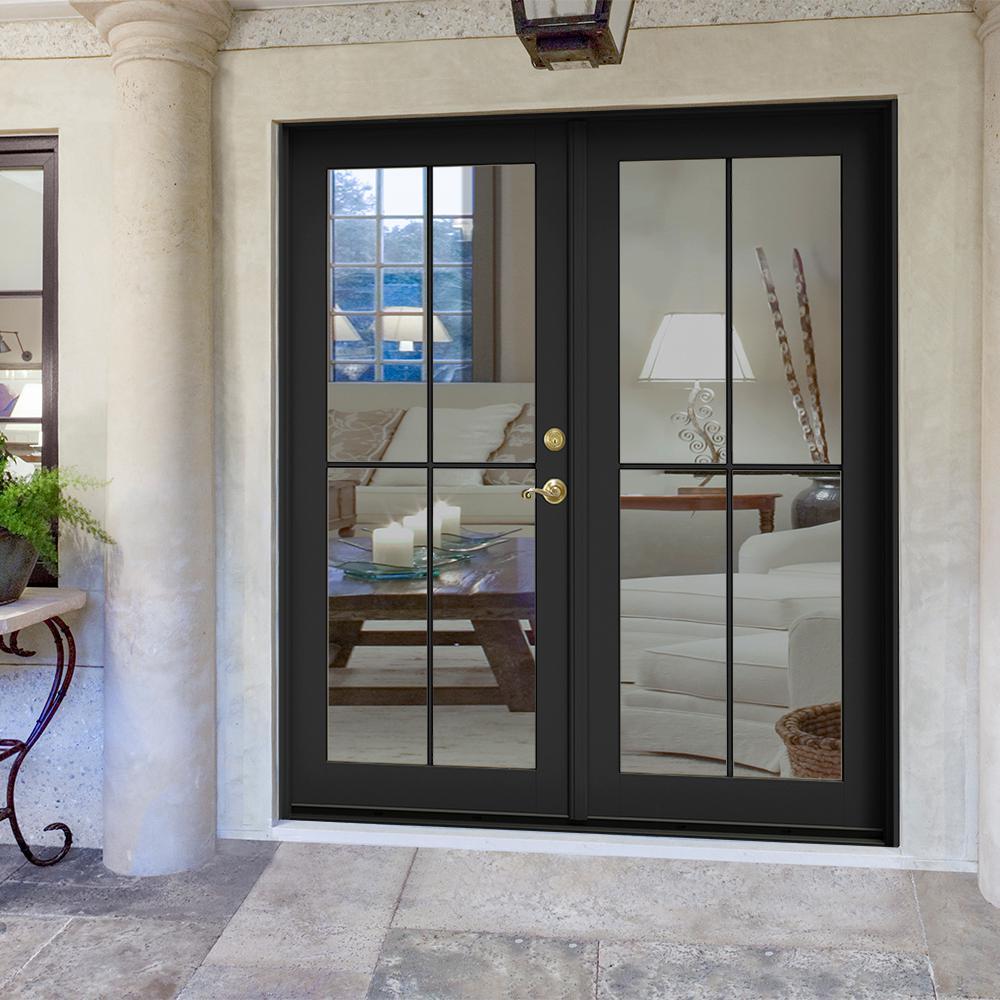 French Patio Door Patio Doors Exterior Doors The Home Depot